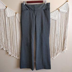 Express Editor Gray Dressy Trouser Slack Relaxed 6